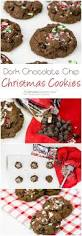 dark chocolate chip christmas cookies the co