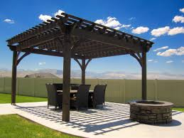 Gazebo Or Pergola by 55 Best Backyard Retreats With Fire Pits Chimineas Fire Pots