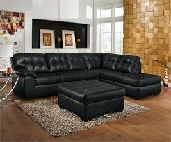 Cheap Black Leather Sectional Sofas Fancy Cheap Black U Shaped Black Cheap Modern Design