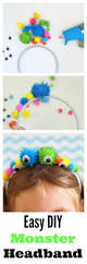 halloween and more diy monster headband pretend play super easy and monsters