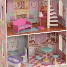 kidkraft penelope dollhouse pretend play 65179 salsa and gigi