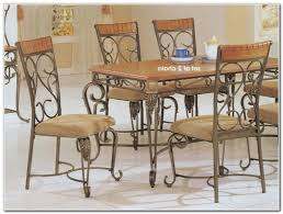 wrought iron dining room sets dining room home decorating