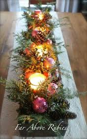 christmas table decoration before adding your appetizers for the