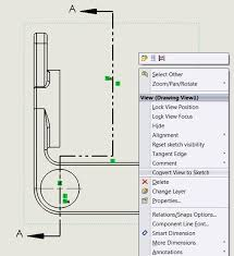 solidworks drawing tip convert view to sketch