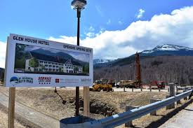 Cost To Build A House In Nh by Construction Begins On Glen House Hotel At Mount Washington Auto
