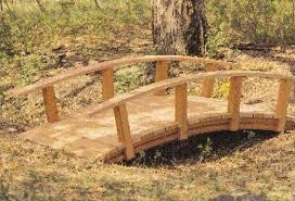 wooden bridge plans bridges wooden bridges