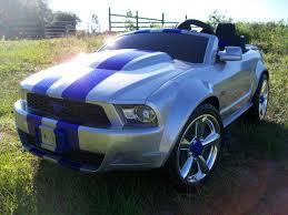 barbie corvette silver modified power wheels custom built silver bullet mustang pt1 youtube