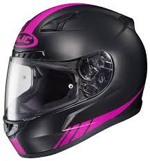 motorcycle helmets and jackets hjc cl 17 streamline women u0027s helmet size lg only revzilla