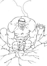 coloring hulk coloring pages 5