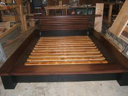 Diy King Platform Bed Storage by Diy Platform Bed With Shelves Storage Decorations