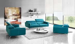 Modern Sofas Leather Furniture Modern Furniture Sprint Modern Sofa Set Blue Leather