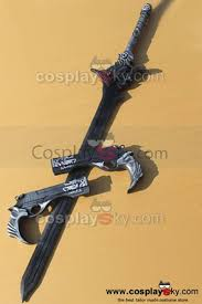 devil may cry 5 dmc dante u0027s sword and guns pvc cosplay props