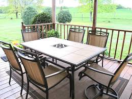 Mosaic Patio Table And Chairs Design Ideas Smith Patio Furniture 1957 Of Tile Patio Table