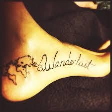 wanderlust tattoo ideas hľadať v google on we heart it
