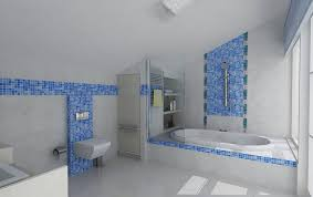 36 baby blue bathroom tile ideas and pictures
