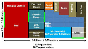 tiny house on wheels floor plans diy solar power bus build out