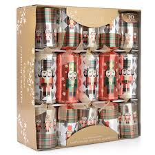 10 x deluxe luxury christmas crackers 14