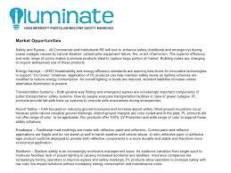 iluminate photoluminescent safety