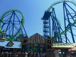 Goliath Six Flags Cotd Park Trip Report Blog Coaster Of The Day