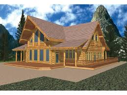 A Frame Plans Del Rio A Frame Log Cabin Home Plan 088d 0030 House Plans And More