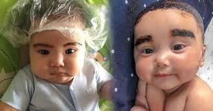 Minyak Kemiri Untuk Anak duh lucu abis ekspresi imut 7 anak artis saat rambutnya diberi