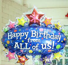 balloons for birthdays delivered flowers and gifts delivered in singapore helium balloons birthday