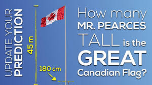 Dimensions Of Canadian Flag The Great Canadian Flag 3 Act Math Canada150math Challenge