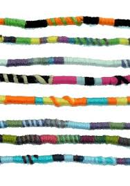 hippie hair wrap bright colors hippie hair extension qty 1