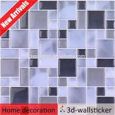 Wallpaper Kitchen Backsplash by 3d Sticky Tile Design Wallpaper Decoration For Kitchen Backsplash