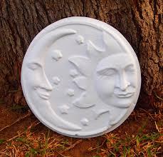 Garden Ridge Wall Art by Sun Moon Wall Plaque Mold Abs Plastic Plaster Cement Concrete