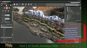 South America Map Game by Unreal Dev Kit Creating Mod Map The Oldest World For Game Ark