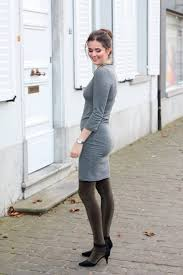 sweater dress and office sweater dress and glitter tights