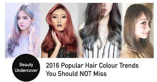 hair color 201 top hair colour trends in singapore for 2016