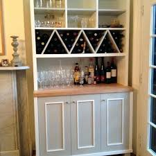 white wood wine cabinet wine rack 72 bottles stackable storage 6 tier solid wood display
