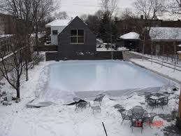 backyard rinks home outdoor decoration