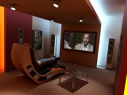 Modern Home Theater Design Ideas  RoundPulse Round Pulse - Home cinema design