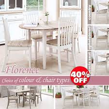 Quality Dining Tables Florence Round Extended Dining Table And Chairs Stunning Kitchen