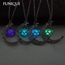 glow in the necklaces aliexpress buy funique fashion luminous glow in the