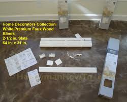 inspiration ideas home decorators collection faux wood blinds with