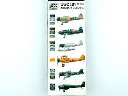 ak interactive ak 2060 ww2 ijn aircraft colours large scale planes