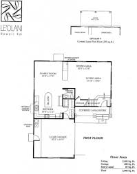 Hawaii Floor Plans 5 Leolani Floor Plans Newer Hawaii Kai Homes