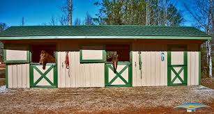 shed row horse barn plans