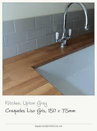 stylish kitchen tile ideas uk craqueles liso gris kitchen tiles provide a stylish splashback