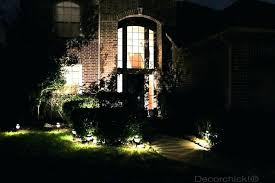 spot lights for yard solar patio string lights landscape spotlights in yard at night home