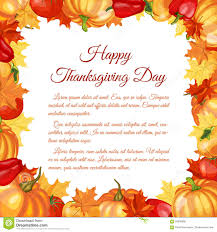thanksgiving day greeting card stock vector image 59008060