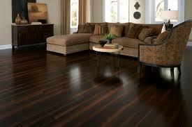 Bamboo Flooring Vs Laminate Acacia Asian Walnut Mocha Hand Scraped Hardwood Flooring Room