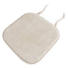 lavish home memory foam pad dining chair cushion u0026 reviews wayfair