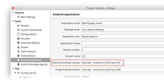 android api versions understanding android api levels xamarin