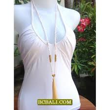 long beaded tassel necklace images Rope pendant tassel necklaces strand long bead rope pendant jpg