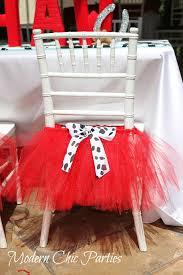 tutu chair covers modern chic